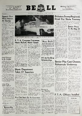 Tilghman Bell - April 5, 1957