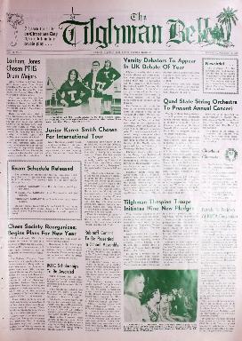 Tilghman Bell - December 18, 1968