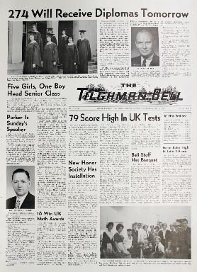 Tilghman Bell - June 7, 1961
