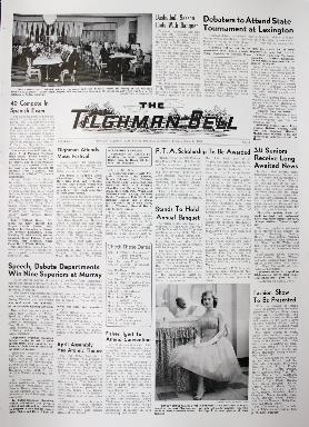 Tilghman Bell - April 8, 1960