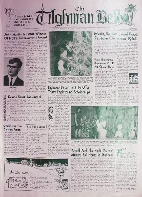 Tilghman Bell - December 21, 1965