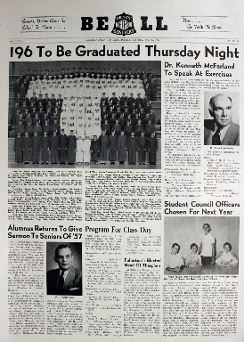 Tilghman Bell - May 29, 1957