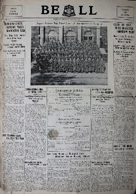 Tilghman Bell - May 30, 1932
