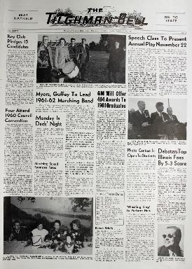 Tilghman Bell - November 11, 1960