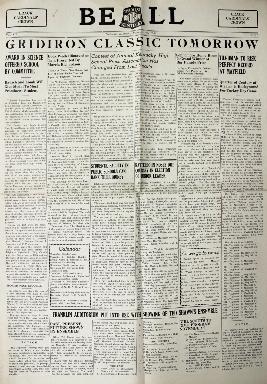 Tilghman Bell - November 23 1938