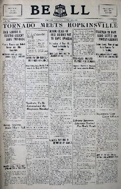 Tilghman Bell - November 6, 1931