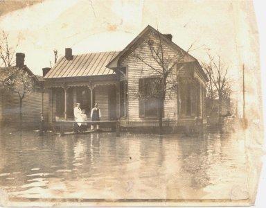4th and Jackson 1913 Flood