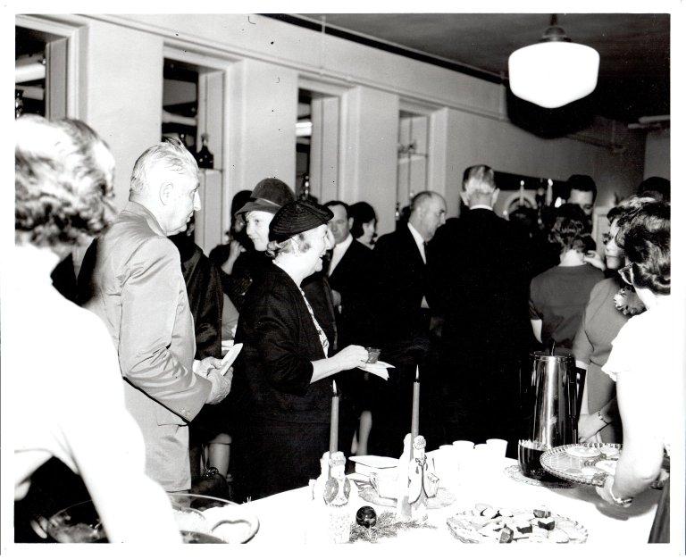 Harriett Boswell, Guest in Refreshment Line
