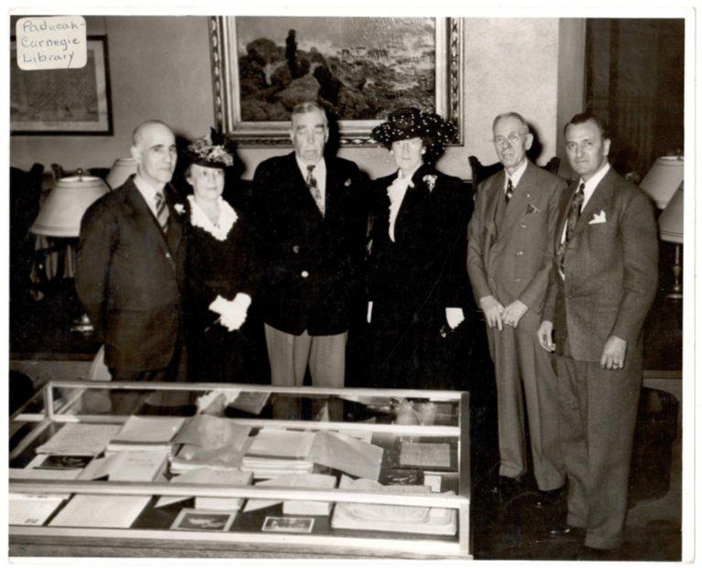 Carnegie Library Board of Trustees, Dedication of Irvin Cobb Case