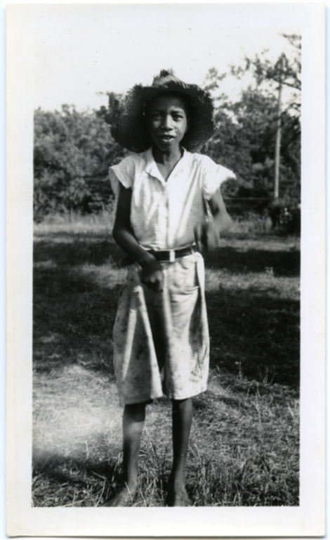 Child with the Straw Hat