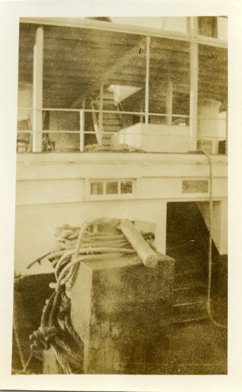 Stairs on the Steamboat