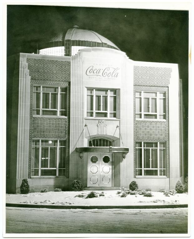 Coca-Cola Bottling Plant During Winter