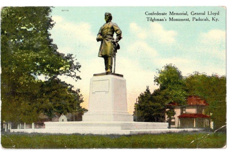 Confederate Memorial, General Lloyd Tolghman's Monument, Paducah, KY