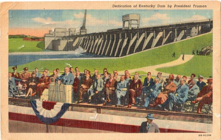 Dedication of Kentucky Dam by President Truman