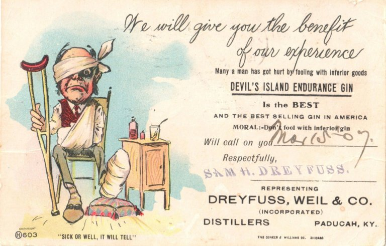 Dreyfuss, Weil & Co.Incorporated, Distillers, Paducah, KY.