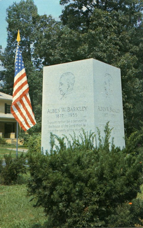 Alben W. Barkley Memorial, Paducah, KY.