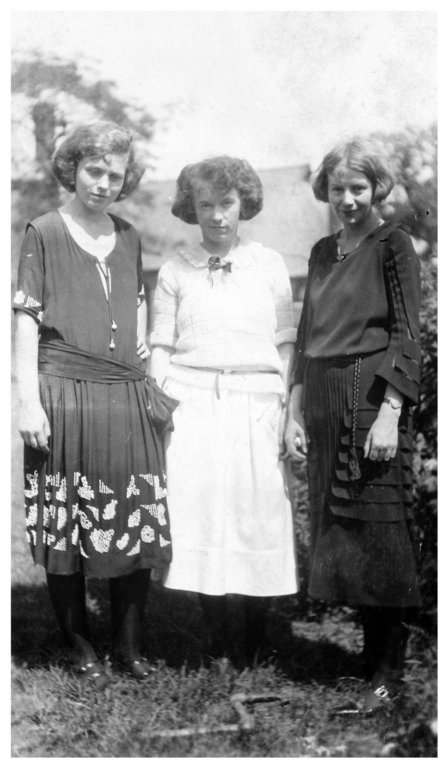 Elizabeth, Hattie, and Sara