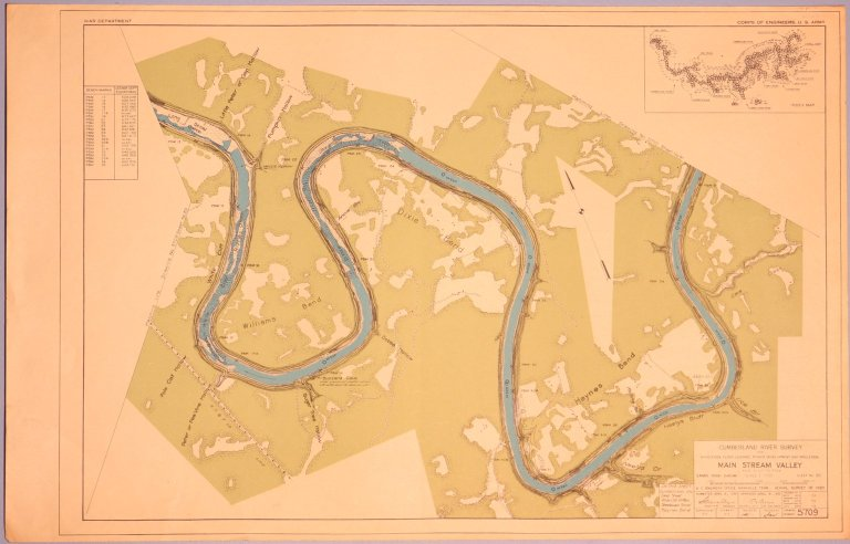 Cumberland River Survey 5709