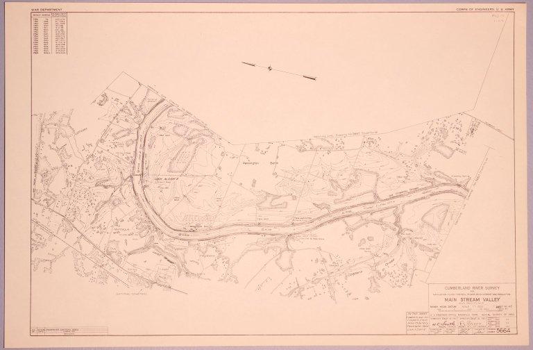 Cumberland River Survey 5664
