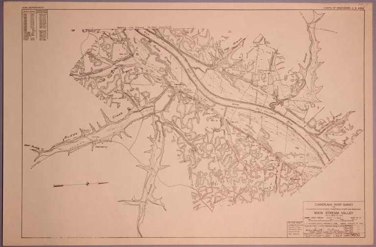 Cumberland River Survey 5650