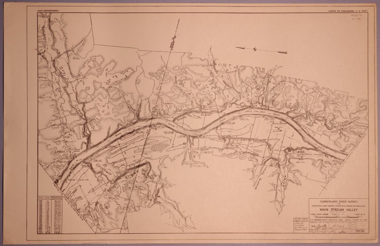 Cumberland River Survey 5638