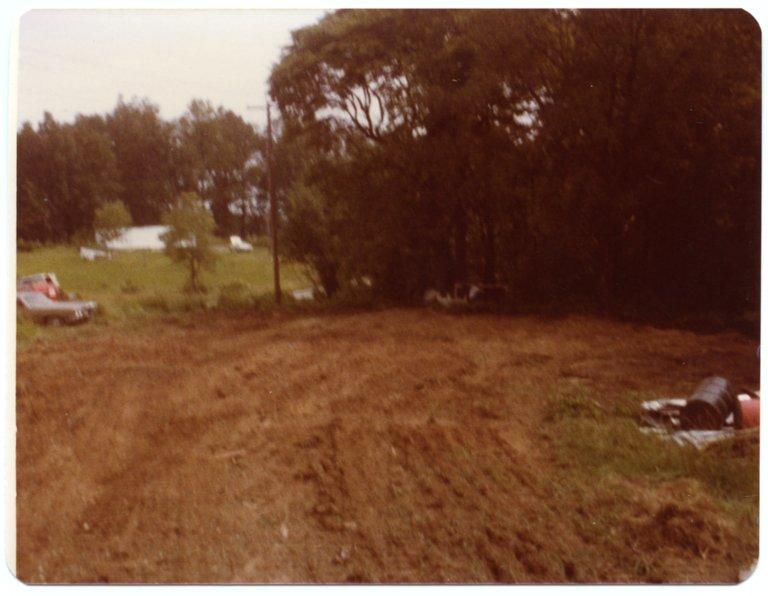 Where A Barn Sat on James Whites Farm