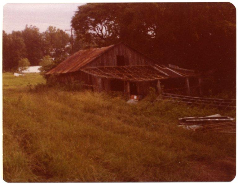 Barn on James White Farm
