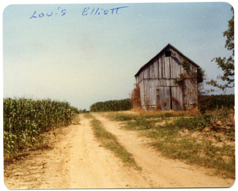 Barn on the Louis Elliot Farm