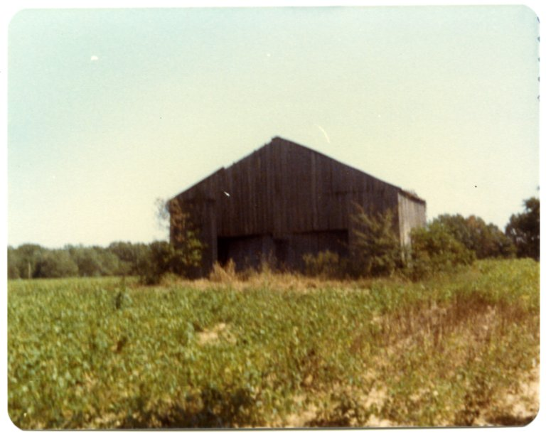 Barn on Allen Rhodes Farm