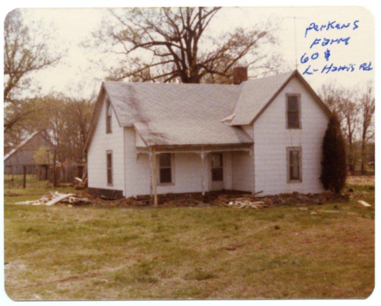 House on the Perkins Farm