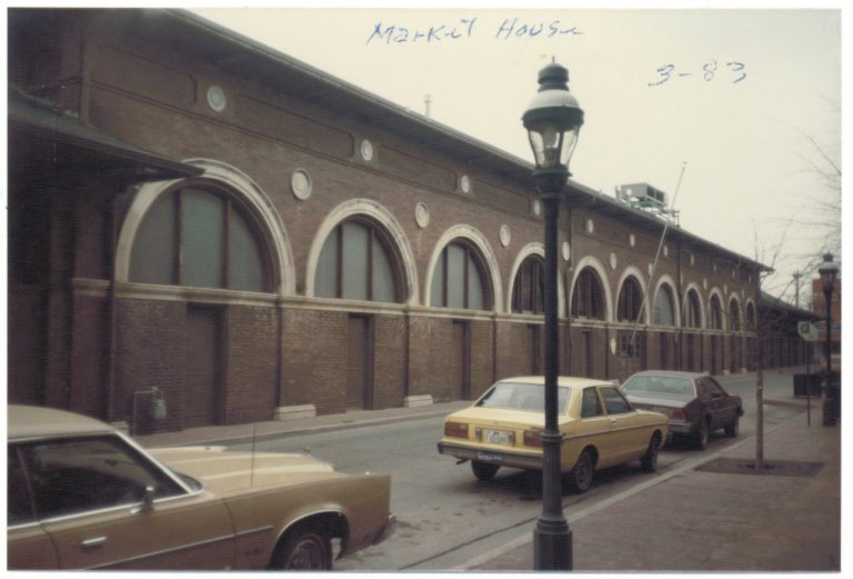Market House, March 1983